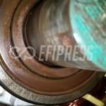 Sustitución de rodamientos en motor electrico